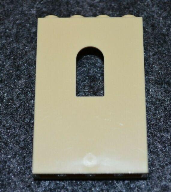 1 ~ 1x4x5 Yellow Green Wall w// Arch window Bricks  ~ Lego  ~ NEW