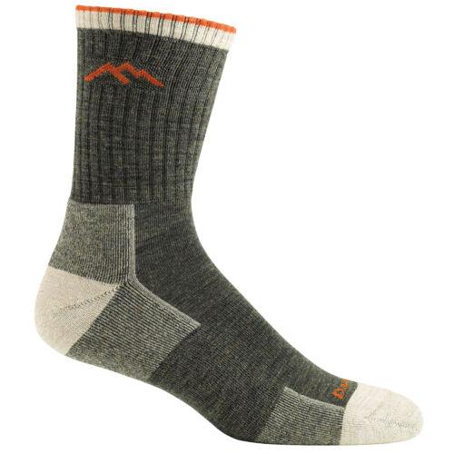 Darn Tough Hiker Micro Crew Sock Cushion Socks Walking Olive All Sizes