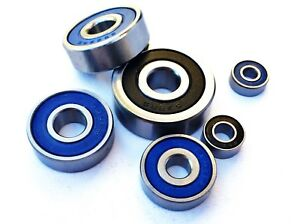 MR SERIES MINIATURE METRIC BEARINGS Stainless Rubber Sealed FULL RANGE