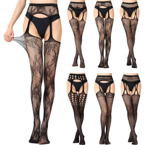 a5bf559f066 Image is loading Fashion-Lingerie-Fishnet-Stocking-Tights-Elastic-Pantyhose -Net-