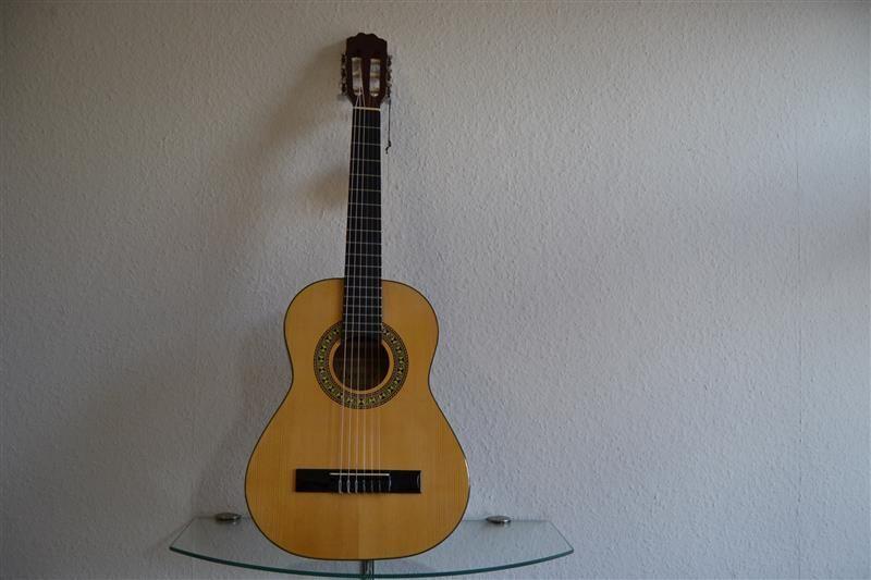 Denver Kinder Konzertgitarre 1 2 Natur   NEU