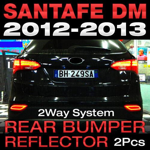 Surface Emission Rear Bumper Blake Reflector 2Way for HYUNDAI 13-15 Santa Fe DM