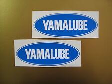 YAMALUBE sticker/ decal x2