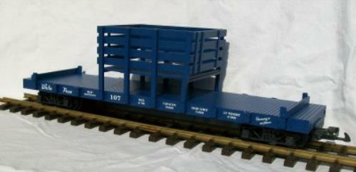 USA Trains usar 1818 Rail & Tie CAR-BLU SCURO -