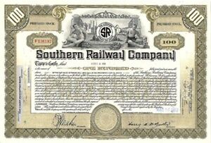 Allegheny Valley Railroad Co Stock Certificate - Ghosts of