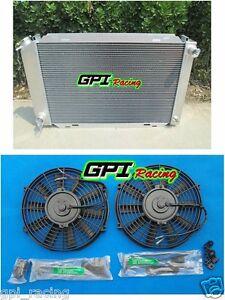 52MM for 1979-1993 FORD MUSTANG 87 88 89 90 91 92 93 Aluminum Radiator /& 2*FANS