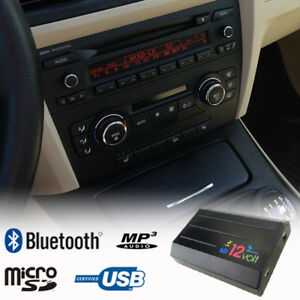 Details about Bluetooth Handsfree A2DP Music CD Changer Adapter for BMW E90  E91 MOST Car Kit