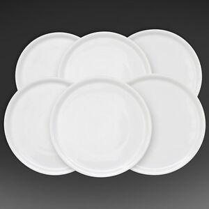Details about Wholesale 72 White Italian Porcelain Pizza Plate 13