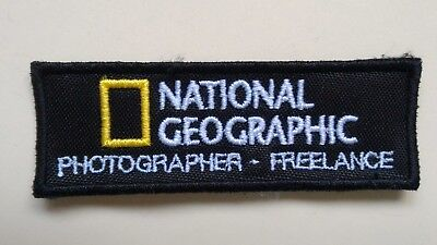 Freelance 9x3cm 000 Regular Tea Drinking Improves Your Health Useful Patch Toppa National Geographic Photographer