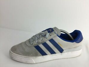 Adidas-Busenitz-CQ1166-Grey-Suede-Sports-Gym-Trainers-Men-Size-UK-8-5-Eur-42