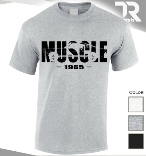 NEW 1965 MUSCLE HORSE POWER FORD MUSTANG AMERICAN MUSCLE TSHIRT CAR TURBO