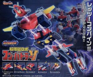 RARO SET 10 Figure Robot Popy Chogokin COMBATTLER V 2005 Originali BANDAI JAPAN
