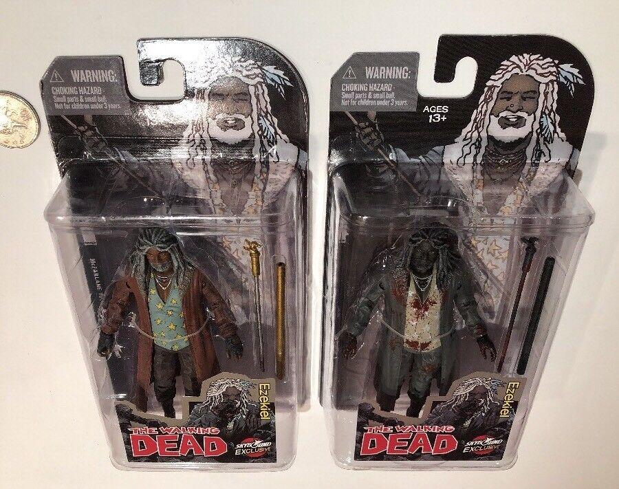 The Walking Dead LTD EDT 2014 SDCC Skybound Excl Ezekiel Full colour & B&W BLOOD