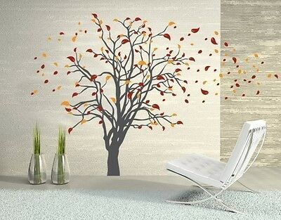 Gorgeous Tree Wall Decal, Floral Decals, sticker, mural