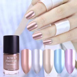 BORN-PRETTY-Metallic-Nail-Polish-Mirror-Shiny-Metal-Effect-Varnish-9ml