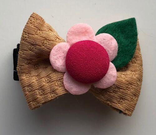 Hair Clips Bow /& Flower