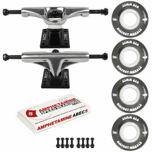 Abec 5 Bearings Skateboard Cruiser Trucks and Wheels Package 83A Soft Wheels