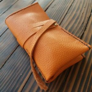 Vintage-Style-Leather-Roll-Travel-Cover-Wrist-Watch-Size-to-50mm-Watches