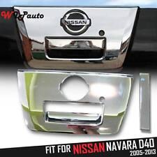 Chrome Tailgate Handle Surround For Nissan Frontier Navara D40 Ute Pickup 05-13