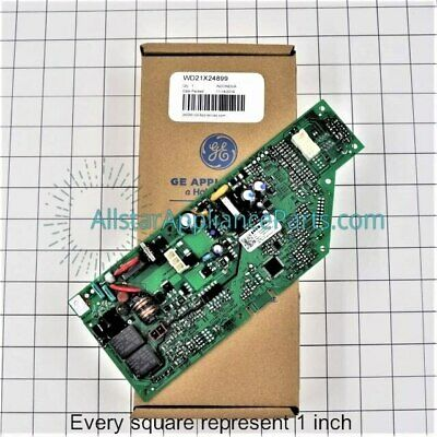 GE Quiet Power 3 Dishwasher Control Mother Board WD34X11284 INTERFACE WD21X10247