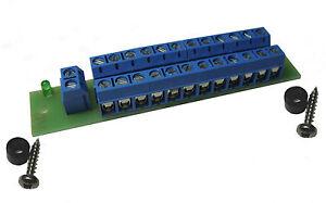 1-St-Stromverteiler-Verteiler-mit-STATUS-LED-fuer-Gleich-und-Wechselspannung