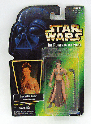 Princess Leia Organa as Jabbas Prisoner Kenner Star Wars The Power of the Force