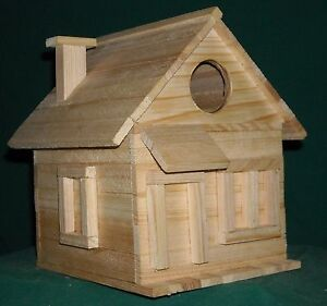 Details About Cottage Bird House Kits For Children And Adults Hand Made In Usa