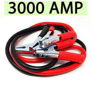 Cavi-bipolari-3000-AMP-cavo-avviamento-batteria-scarica-auto-moto-camper-pinze