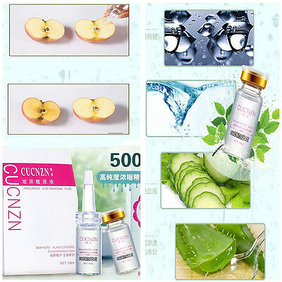 Hyaluronic Acid Serum Face Skin Treatment Acne Anti Wrinkle Collagen Anti-aging