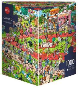 BIRGIT TANCK - DOG SHOW - Heye Puzzle 29788 - 1000 Teile Pcs.