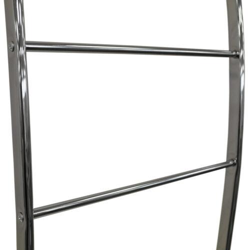 Chrom Babs139a1 Metall Wandmontage Lehnend 4 Leitersprosse Handtuchhalter