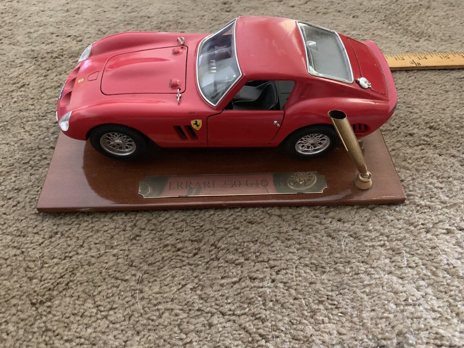 precios mas bajos 1962 Rojo Burago Ferrari Gto 1 18 Diecast Modelo Vintage Vintage Vintage Coleccionistas Hecho en Italia  hasta un 50% de descuento