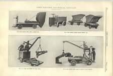 1921 Electric Industrial Vehicles Yale Hauling Dumping Jib Crane