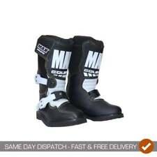 Wulfsport Kids Childrens Pee Wee Cub Max Motocross Motor Bike Quad Boots - Black