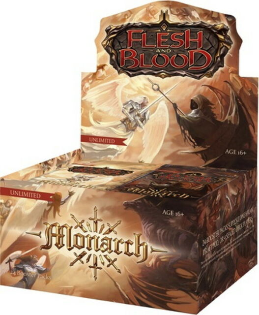 Monarch Booster Box Unlimited Edition SEALED Flesh and Blood - PREORDER