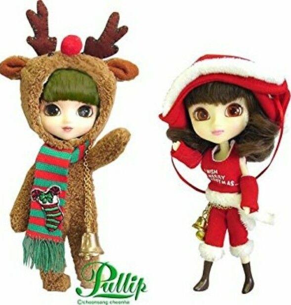 Nuevo-Jun planificación surco poco Pullip Navidad Carol y Rudolph F-811