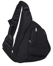 Everest Sling Single Strap Shoulder Backpack Messenger Bag BLACK