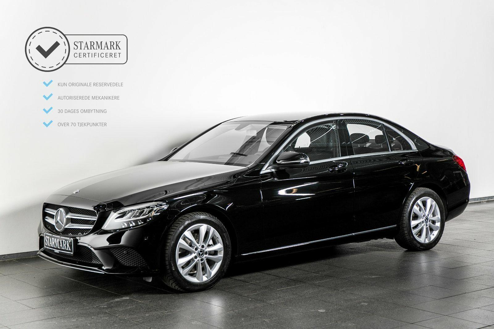 Mercedes C220 d 2,0 Avantgarde aut. 4d - 439.900 kr.