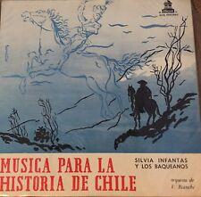 Musica Para La Historia De Chile Orquesta de V. Bianchi Vinyl Record LP NM