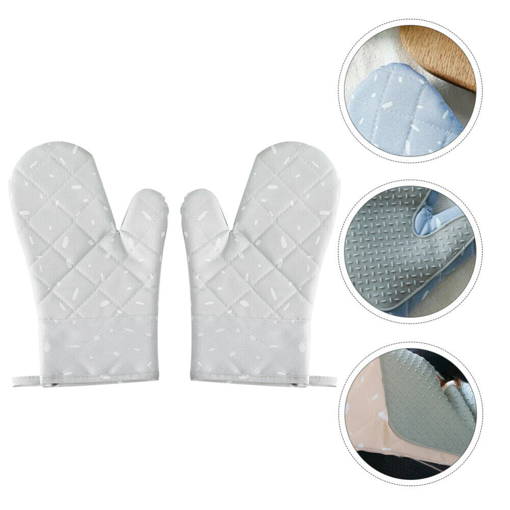 1 Pair Skid-proof Kitchen Heat-resistant for Home