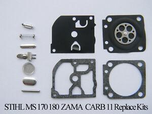 Carb Rebuild Kit Pour ZAMA RB-84 STIHL C1Q-S54 S63 S63A S66 S78 carburateur