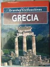 GRECIA - GRANDES CIVILIZACIONES - ED. GRUPO CULTURAL 2000 - VER INDICE Y FOTOS
