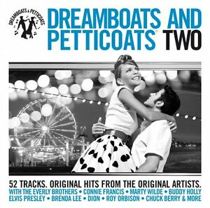 Dreamboats-and-Petticoats-Two-Vol-2-New-2-Disc-CD