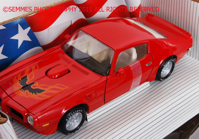 Firebird Trans-Am Buccaneer rouge Ertl 1973 1 18th Only one I have New FREE SHIP