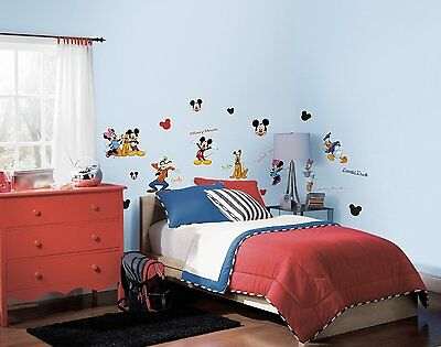RoomMates Mickey Mouse & Friends Peel & Stick Wall Stickers Decals 1507
