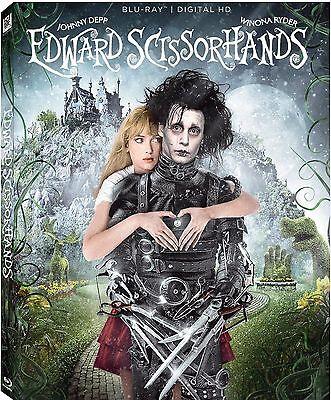 EDWARD SCISSORHANDS 25th Anniversary Edition   -  Blu Ray - Region free