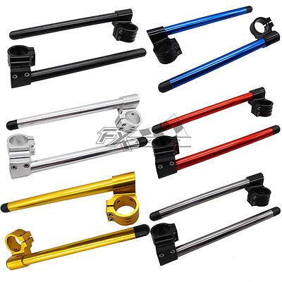 37mm Handle Bar Clip On For KAWASAKI Ninja 250R 300//CBR 250R 600F GS500 FXCNC