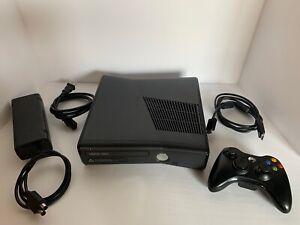 Microsoft Xbox 360 Slim 250GB Black Console S Model 1439 ...
