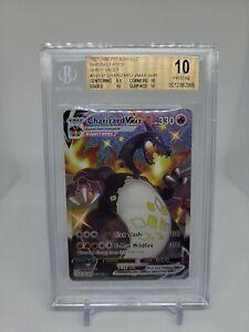 Pokemon Beckett BGS PRISTINE 10 / Shining Fates Shiny Charizard VMAX - Low Pop!