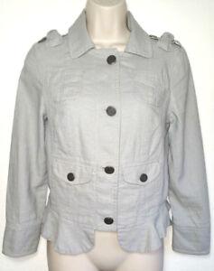 Juicy-Couture-Women-Jacket-Blazer-Coat-Tiered-Hem-Size-P-XS-Extra-Small-US-0